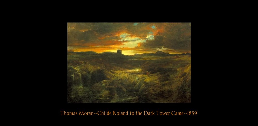 Thomas Moran Childe Roland to the Dark Tower Came 1859-2