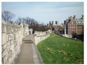 Walls of York