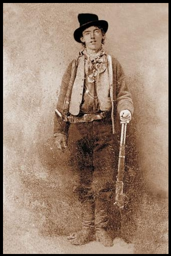 Billy the Kid--Public Domain--Ben Wittig